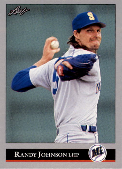 1992 Leaf #302 Randy Johnson
