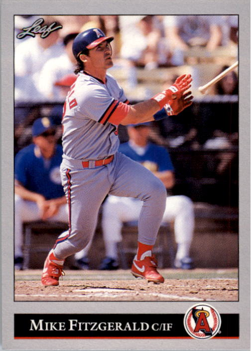 1992 Leaf #371 Mike Fitzgerald