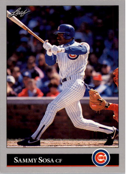 1992 Leaf #412 Sammy Sosa