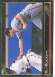 1992 Leaf Black Gold #3 Bud Black