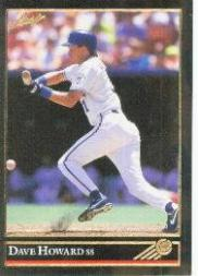 1992 Leaf Black Gold #4 Dave Howard