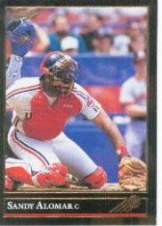 1992 Leaf Black Gold #9 Sandy Alomar Jr.