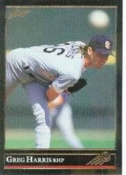 1992 Leaf Black Gold #10 Greg W. Harris