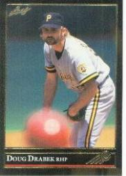 1992 Leaf Black Gold #11 Doug Drabek
