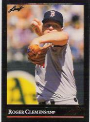 1992 Leaf Black Gold #19 Roger Clemens