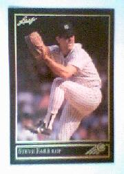 1992 Leaf Black Gold #20 Steve Farr