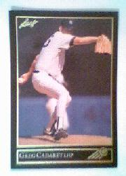 1992 Leaf Black Gold #24 Greg Cadaret