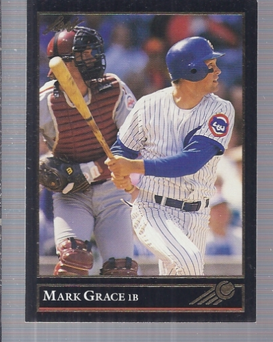 1992 Leaf Black Gold #26 Mark Grace