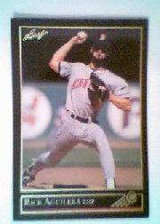 1992 Leaf Black Gold #34 Rick Aguilera