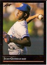 1992 Leaf Black Gold #35 Juan Guzman