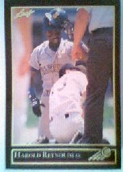 1992 Leaf Black Gold #38 Harold Reynolds
