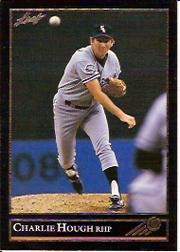1992 Leaf Black Gold #39 Charlie Hough