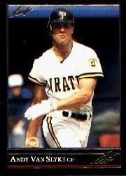 1992 Leaf Black Gold #43 Andy Van Slyke