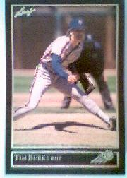1992 Leaf Black Gold #44 Tim Burke