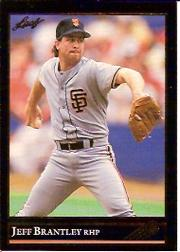 1992 Leaf Black Gold #56 Jeff Brantley