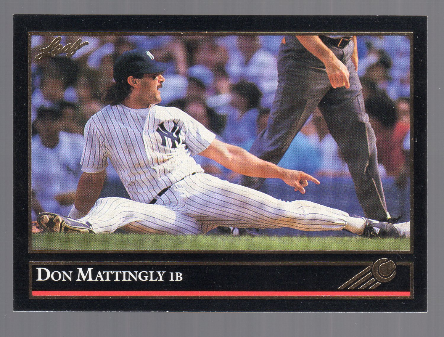 1992 Leaf Black Gold #57 Don Mattingly
