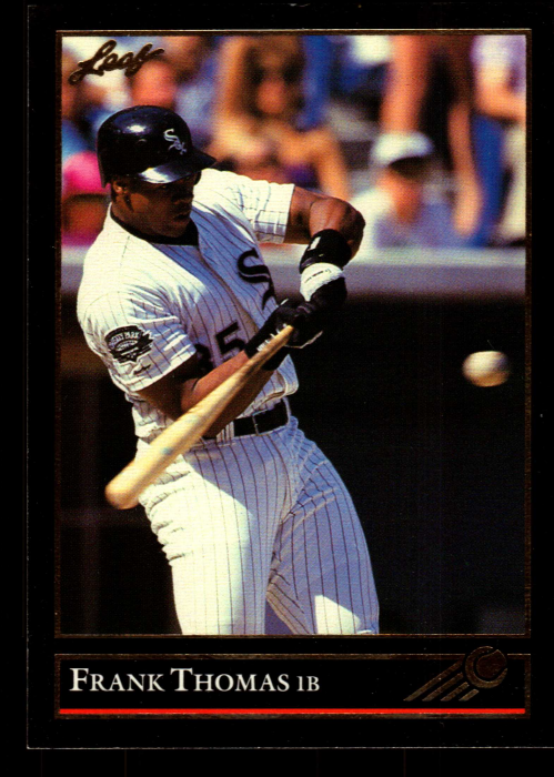 1992 Leaf Black Gold #67 Checklist 1-88/Frank Thomas
