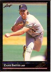 1992 Leaf Black Gold #96 Zane Smith