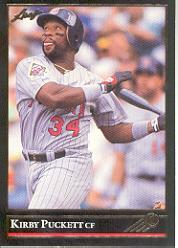 1992 Leaf Black Gold #98 Kirby Puckett