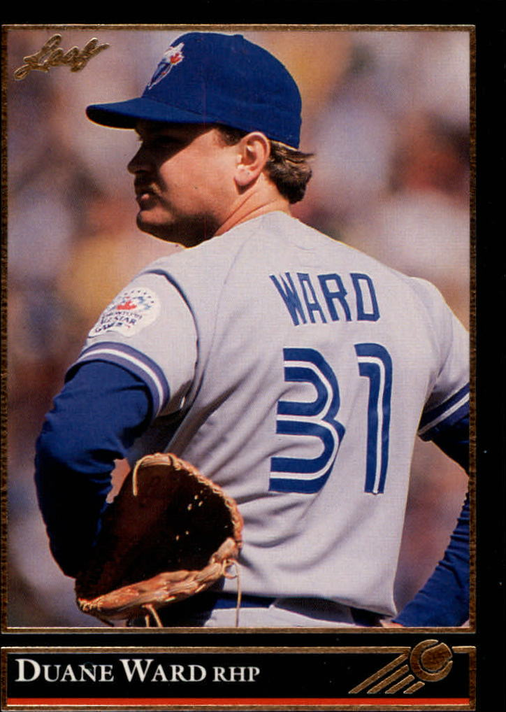 1992 Leaf Black Gold #101 Duane Ward