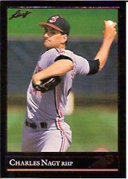 1992 Leaf Black Gold #115 Charles Nagy