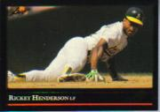 1992 Leaf Black Gold #116 Rickey Henderson