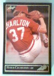 1992 Leaf Black Gold #120 Norm Charlton