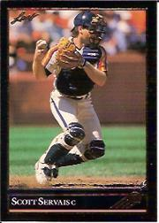 1992 Leaf Black Gold #121 Scott Servais