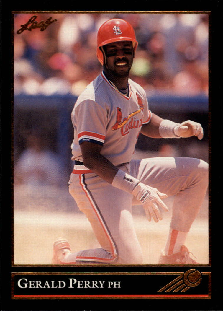 1992 Leaf Black Gold #122 Gerald Perry
