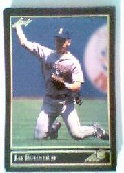 1992 Leaf Black Gold #128 Jay Buhner