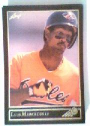1992 Leaf Black Gold #130 Luis Mercedes