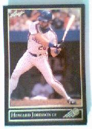 1992 Leaf Black Gold #132 Howard Johnson