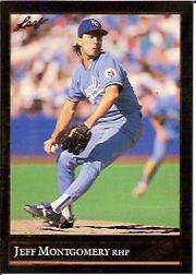 1992 Leaf Black Gold #136 Jeff Montgomery