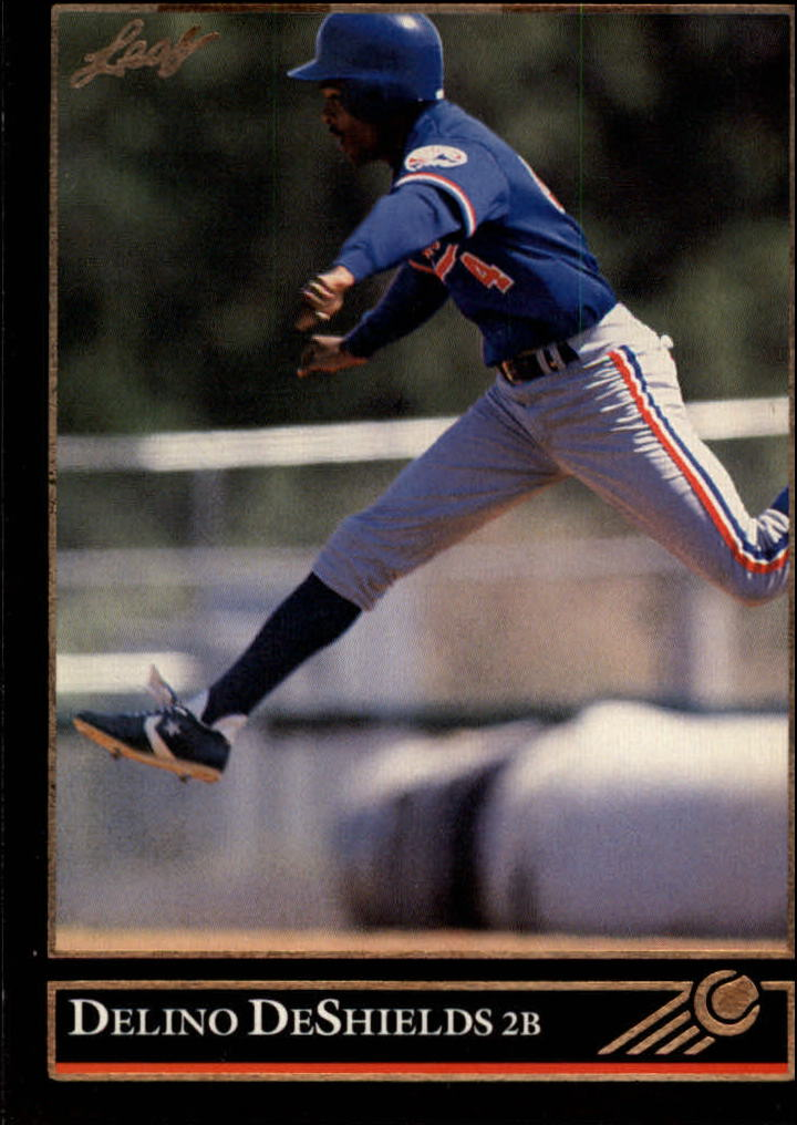 1992 Leaf Black Gold #138 Delino DeShields