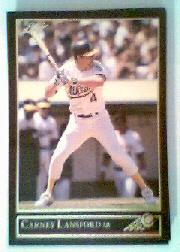 1992 Leaf Black Gold #148 Carney Lansford