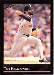 1992 Leaf Black Gold #151 Jeff Reardon