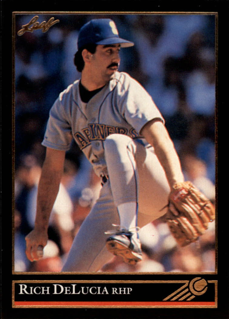 1992 Leaf Black Gold #155 Rich DeLucia