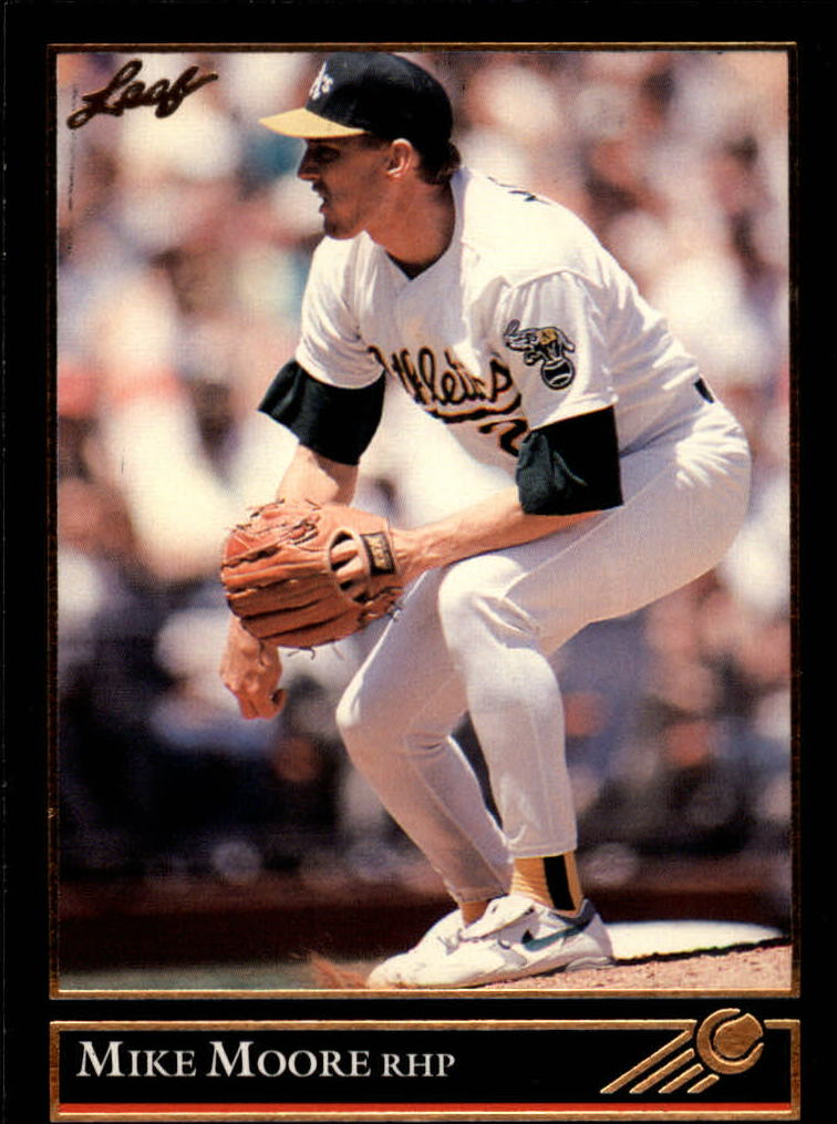 1992 Leaf Black Gold #164 Mike Moore