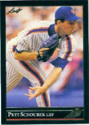 1992 Leaf Black Gold #176 Pete Schourek