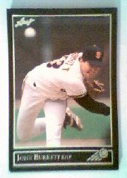 1992 Leaf Black Gold #179 John Burkett