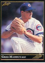 1992 Leaf Black Gold #294 Greg Maddux