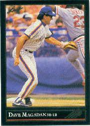 1992 Leaf Black Gold #306 Dave Magadan