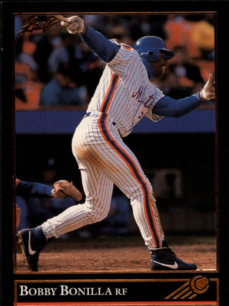 1992 Leaf Black Gold #308 Bobby Bonilla