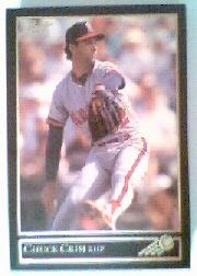 1992 Leaf Black Gold #312 Chuck Crim