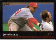 1992 Leaf Black Gold #313 John Kruk