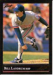1992 Leaf Black Gold #333 Bill Landrum