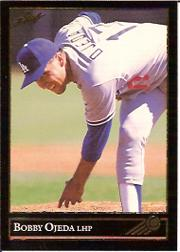 1992 Leaf Black Gold #345 Bobby Ojeda