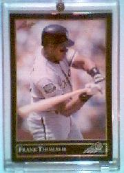 1992 Leaf Black Gold #349 Frank Thomas