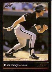 1992 Leaf Black Gold #369 Dan Pasqua