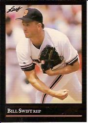 1992 Leaf Black Gold #407 Bill Swift